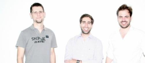 Tiago Serra, André Freitas e Rui Peixoto da NearUs
