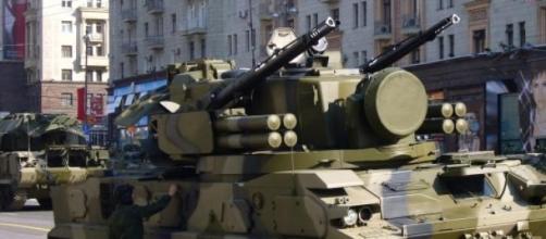 Un semovente antiaereo russo