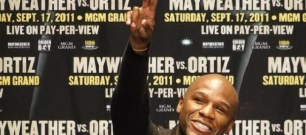 Mayweather will take on Pacquaio in Las Vegas