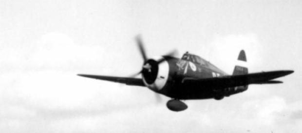 P-47 similar aos utilizados pela FEB na Itália.