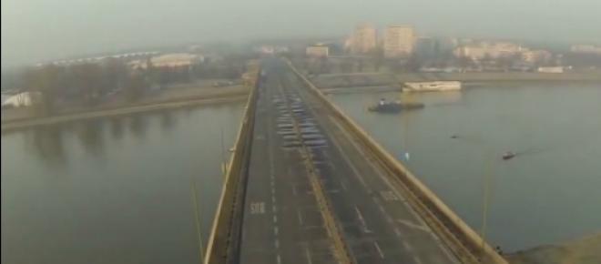 Most Łazienkowski w Warszawie: remont po pożarze - Ratusz zapowiada otwarcie w 2015