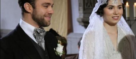 Il matrimonio Fernando-Maria