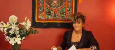 La escritora SIlvia Freire