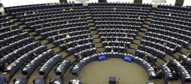 Aspecto del Parlamento Europeo el pasado miércoles