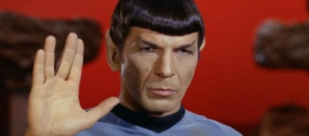 Spock em Star Trek interpretado pelo ator
