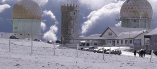 Torre, Serra da Estrela: inverno rigoroso