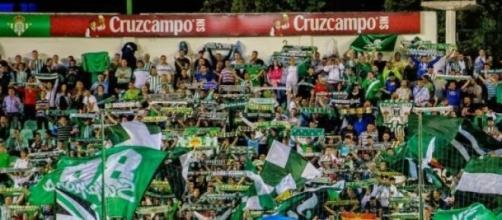 Ultras del Betis Balompié.