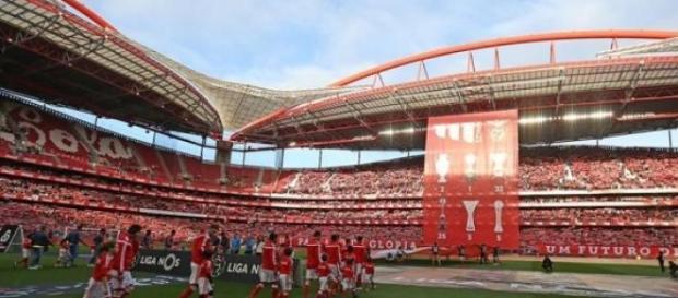 Benfica - Estoril (fonte: facebook do SL Benfica)