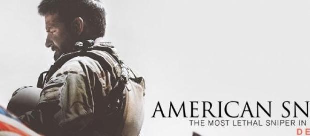 Póster de la película, The American Sniper.