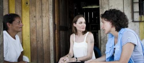 Angelina Jolie é embaixadora para os refugiados