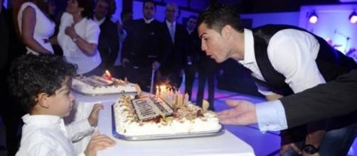 Foto: Facebook Oficial Cristiano Ronaldo | 2014