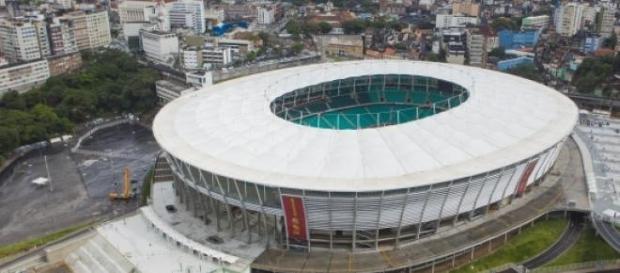 Fonte Nova: a casa principal do futebol baiano