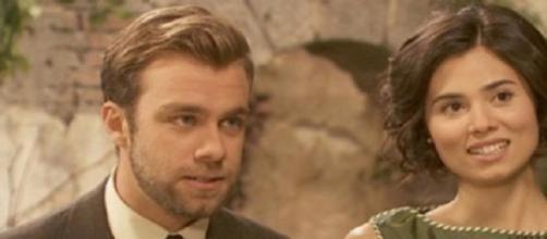 Maria e Fernando tornano dal viaggio di nozze