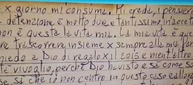 Ecco la lettera di Bossetti scritta dal carcere