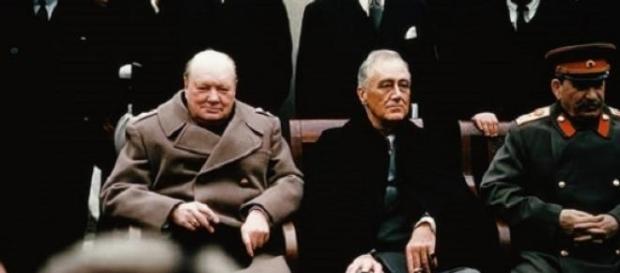 La photo la plus célèbre de la conférence de Yalta
