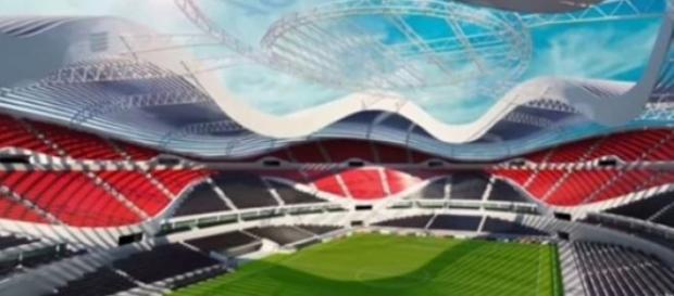 Novo estádio vai custar 350 milhões de euros