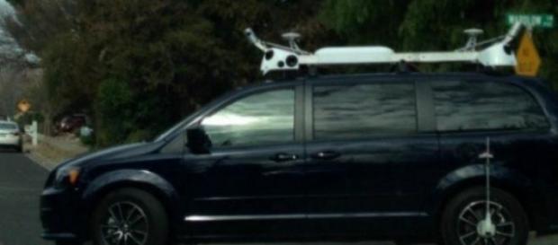 Os misteriosos carros vistos na Califórnia