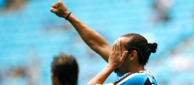 Pirata fez 55 golos com a camisola do Grémio