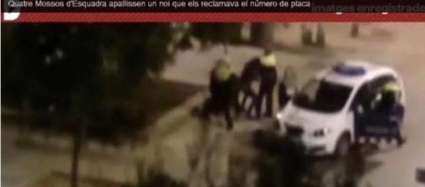 Última agresión en Barcelona