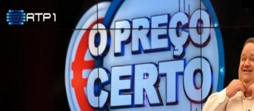 Fernando Mendes apresenta o Preço Certo na RTP1