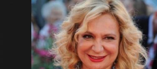 Monica Scattini ospite di un festival del cinema