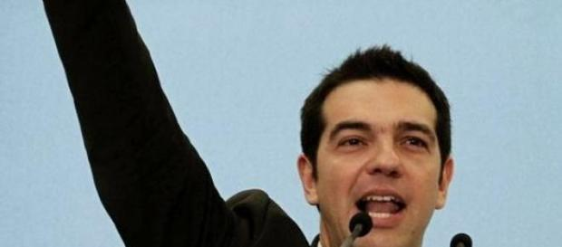 Alexis Tsipras, dirigeant de Syriza