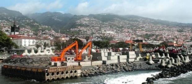 As obras na ilha da Madeira