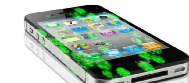 Bacterias encontradas en un celular