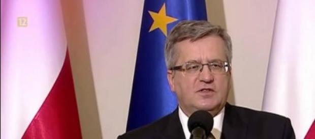 Bronisław Komorowski w wyborach prezydenckich 2015