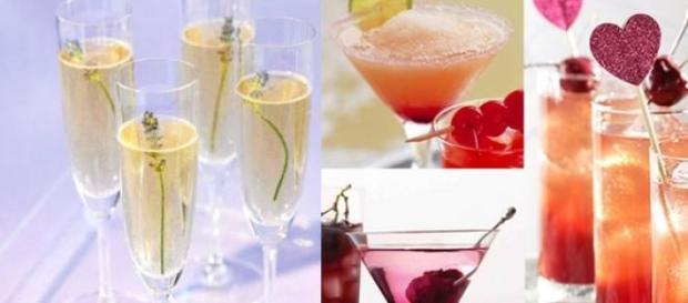 Cocktail originali a san Valentino, alcolici e non
