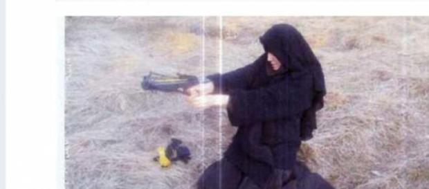 Hayat  Boumeddiene  apare in inregistrarea video