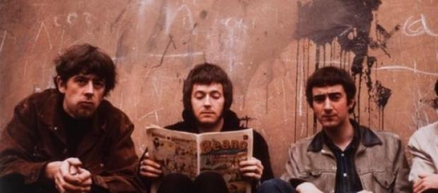 John Mayall com Eric Clapton no grande álbum de 66
