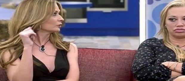 Olvido Hormigos y Belén Esteban en GH VIP