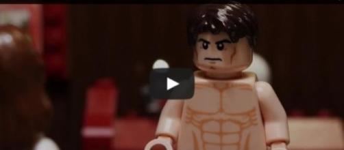 50 sombras de Grey: el trailer Lego