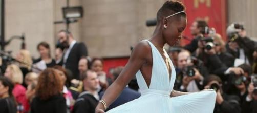 Lupita Nyong´o en los Oscar 2014