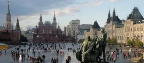 Plaza Roja de Moscú en imagen de archivo