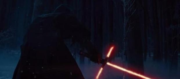 Capture du nouveau sabre laser de Star Wars VII