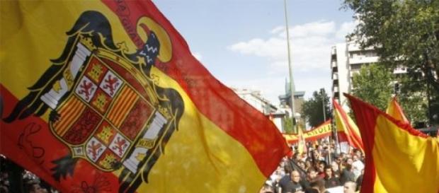 Nuevas Generaciones bandera preconstitucional