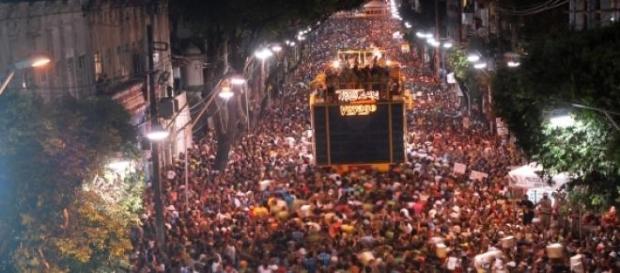 O carnaval de Laguna segue o estilo de Salvador