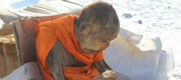 Se trataría de un monje del siglo XIX