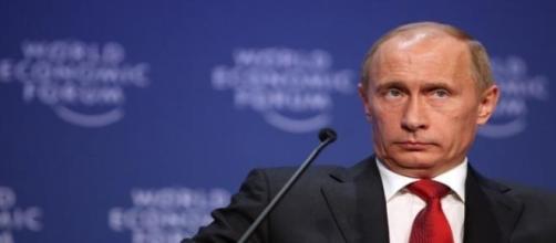 Vladimir Putin en una reunión internacional