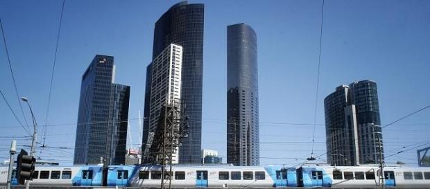 Die Skyline Melbournes ist beeindruckend.