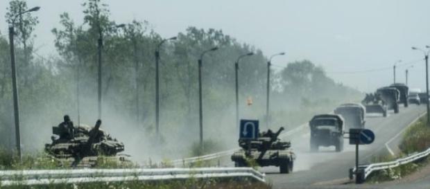 Les forces rebelles ont encerclé Debaltseve.