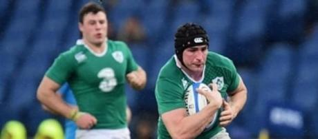 Tommy O'Donnell scored Ireland's opening try