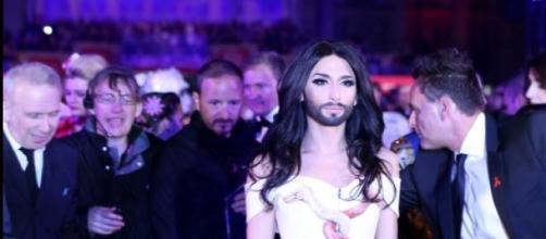 Conchita Wurst al Festival di Sanremo 2015