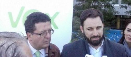 Francisco Serrano y Santiago Abascal