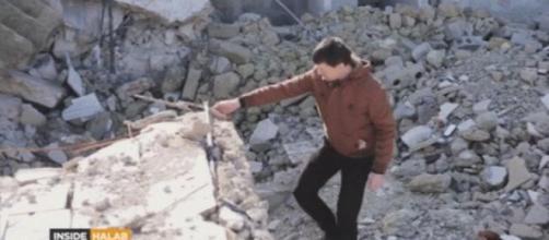 John Cantlie ad Aleppo, Siria