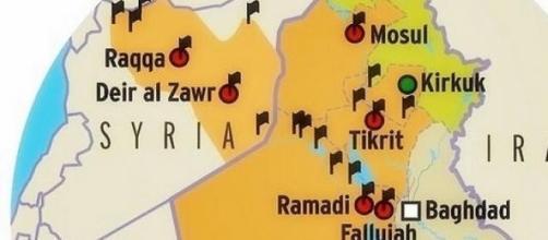 l'occupation de la Syrie et de l'Irak par l'EI