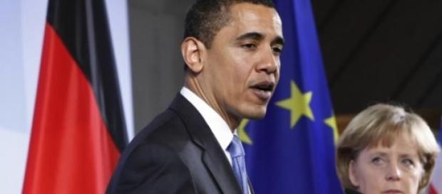 Brack Obama rencontre Angela Merkel sur l'Ukraine.