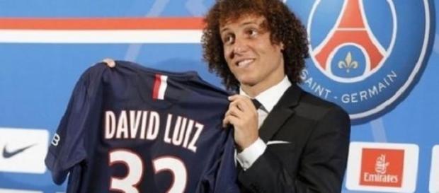David Luiz au PSG, c'était 49,5 millions € !